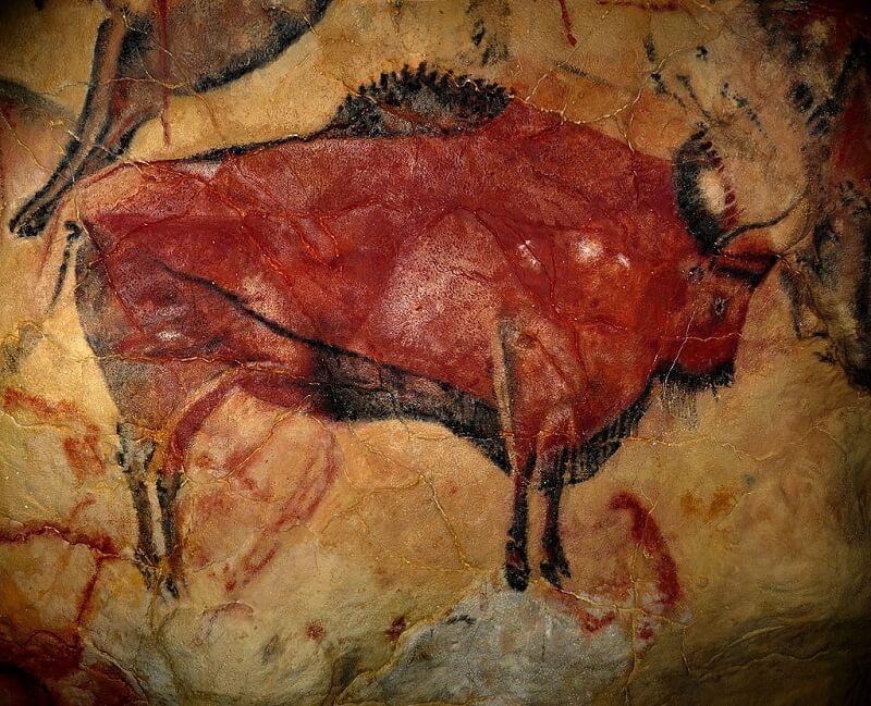 Pintura-rupestre-prehistorica-altamira
