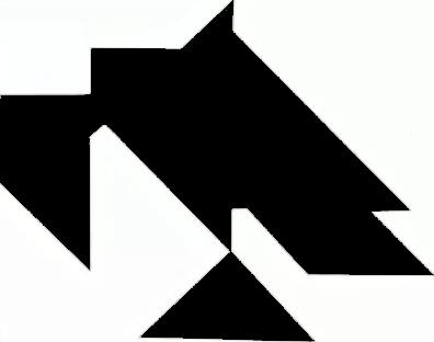 Tangram-Figura-Buitre-Oculta
