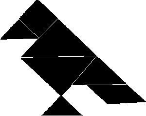 Tangram-Figura-Pajaro-Solucion