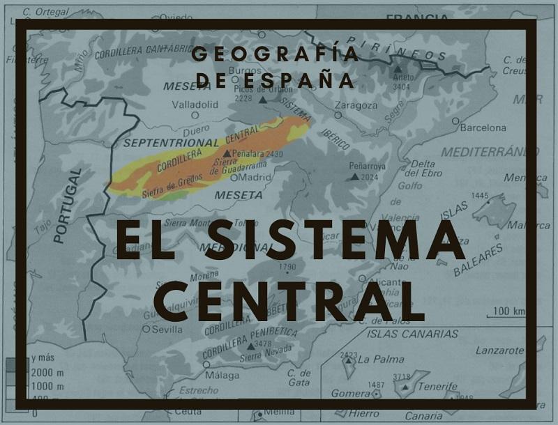 el-sistema-central-espana